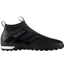 Adidas ACE Tango 17+ Purecontrol TF Turf Soccer Shoes (Core Black)