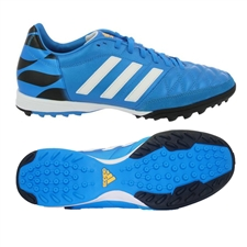 Adidas 11 Nova TF Turf Soccer Shoe (Solar Blue/Black/White)