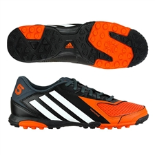 Adidas Freefootball X-ite Turf Soccer Shoes (Black/Running White/Orange)