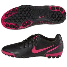 Nike5 Bomba Finale Turf Soccer Shoes (Black/Cherry)