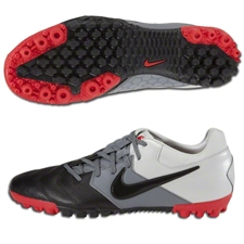 Nike5 Bomba Pro Turf Soccer Shoes (Jetstream/Challenge Red/Cool Grey/Black)
