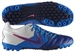 Nike5 Bomba Pro Turf Soccer Shoes (White/Old Royal/Blue-Pink Flash)