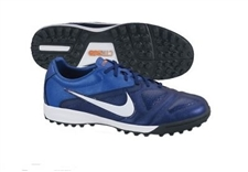 Nike CTR360 Libretto II Turf Soccer Shoes (LoyalBlue/BrightBlue/TotalOrange/White)