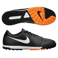Nike CTR360 Libretto Turf Soccer Shoe (Dark Charcoal/Black/Bright Citrus/White)