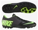 Nike FC247 Bomba Pro II Turf Soccer Shoes (Black/Electric Green/Dark Charcoal)