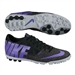 Nike FC247 Bomba Finale II Turf Soccer Shoes (Black/Purple Venom/Anthracite)