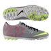Nike FC247 Bomba Finale II Turf Soccer Shoes (Grey/Black/Hyper Punch/Volt)
