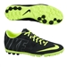 Nike FC247 Bomba Finale II Turf Soccer Shoes (Black/Volt/Dark Grey/Volt)