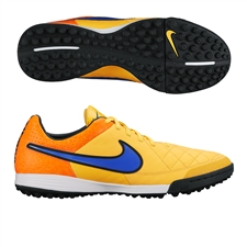 Nike Tiempo Legacy Soccer Turf Shoes (Laser Orange/Total Orange/Volt/Persian Violet)