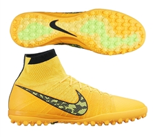 Nike Elastico Superfly TF Turf Soccer Shoes (Laser Orange/Black/Tour Yellow/Volt)