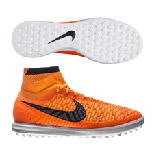 Nike MagistaX Proximo TF Turf Soccer Shoes (Total Orange/Laser Orange/White/Dark Grey)