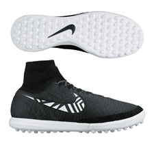 Nike MagistaX Proximo Street TF Turf Soccer Shoes (Black/Anthracite/Bright Citrus/White)