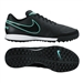 Nike Tiempo Genio II TF Turf Soccer Shoes (Black/Black)