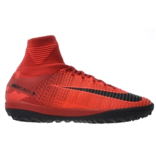 Nike MercurialX Proximo II DF TF Turf Soccer Shoes (University Red/Black/Bright Crimson)