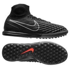 Nike MagistaX Proximo TF Turf Soccer Shoes (Black/Black Gum/Light Brown))