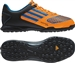 Adidas Freefootball X-ite Youth Turf Soccer Shoes (Techonix/Bright Blue/Zest)