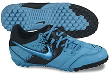 Nike5 Bomba Youth Turf Soccer Shoes (Current Blue/Black)