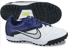 Nike CTR360 Libretto II Youth Turf Soccer Shoes(White/Imperial Purple/Black/Metallic Silver)
