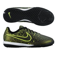 Nike Youth Magista Onda TF Turf Soccer Shoes (Dark Citron/Black/Volt)
