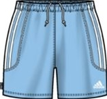 Adidas Women's and Girl's Squadra II Short