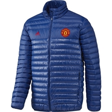Adidas Manchester United Light Down Padded Jacket (Collegiate Royal/Real Red)