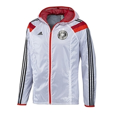 Adidas Germany Woven Anthem Jacket (White/Poppy/Victory Red)