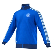 Adidas DFB Germany Track Top (Bright Blue/White/Night Marine)