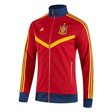 Adidas FEF Spain Track Top (University Red/Real Blue/Sunshine)