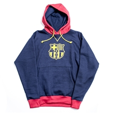 FC Barcelona 2013 Soccer Hoodie (Navy/Red)