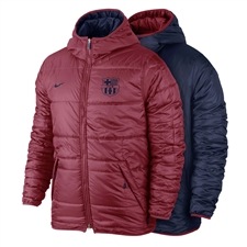 Nike Barcelona Alliance Flip It Jacket (Storm Red/Midnight Navy)