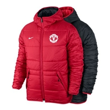 Nike Manchester United Alliance Flip It Jacket (Diablo Red/Black/White)