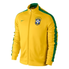 Nike Brasil N98 Authentic Track Jacket (Varsity Maize)