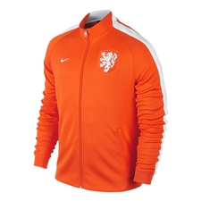 Nike Dutch Holland N98 Authentic Track Jacket (Safety Orange/White)