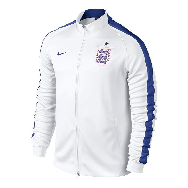 Outerwear Accessories England Store. OUR BESTSELLERS. Nike Breathe England Home Stadium Jersey. Nike Men's England Squad Football Jacket - Red. Mens England Football Sweat. Nike Sportswear Men's England Grand Slam Polo. Jamie Vardy Official England Signed Purple Nike Hypervenom Boot. KEEP IN TOUCH.