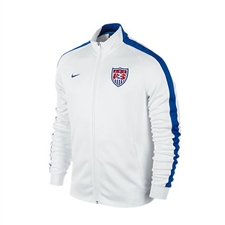 Nike USA N98 Authentic Track Jacket (White/Game Royal)