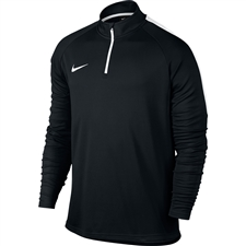 Nike Dry Academy 1/4 Zip Drill Top (Black/White)