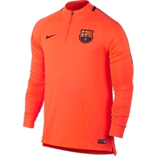 Nike FC Barcelona Squad Drill Top (Hyper Crimson/Night Maroon)