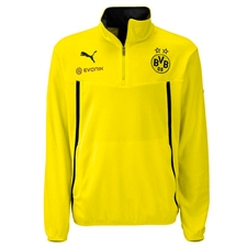 Puma Borussia Dortmund 1/2 Zip Training Jacket (Yellow/Black)