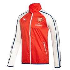 Puma Arsenal Anthem Jacket (High Risk Red/White)
