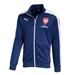 Puma Arsenal T7 Anthem Soccer Jacket (Estate Blue/White)