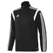 Adidas Youth Condivo 14 Training Soccer Jacket (Black/White/Black)
