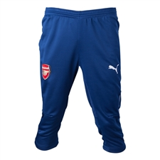 Puma Arsenal 3/4 Training Pant (Estate Blue/White)