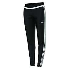 Adidas Women's Tiro 15 Training Pants (Black/White)