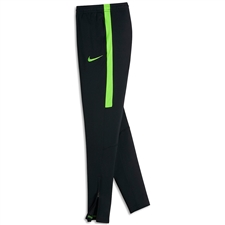 Nike Youth Dry Academy Soccer Pants (Black/Electric Green)