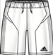 Adidas Campeon 11 Soccer Shorts (White)