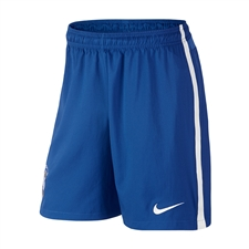 Nike Brasil Home Replica Soccer Short (Varsity Royal/Football White)