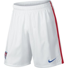 Nike USA Home Replica Soccer Short (Football White/University Red/Game Royal)