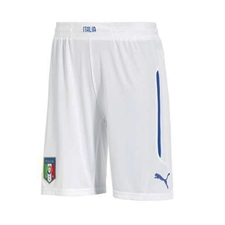 Puma Italy Home Replica Soccer Short (White)