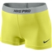 "Nike PRO 2.5"" Women's Soccer Shorts II (Electric Yellow/Anthracite)"