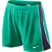 Nike E4 Women's Soccer Shorts (Atomic Teal/Grand Purple/Fiberglass)